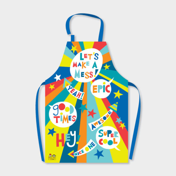 Children's Apron - Lets Make a mess
