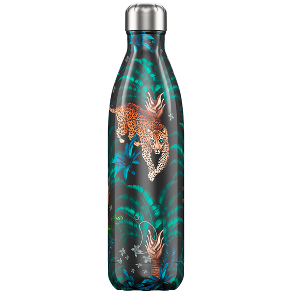 Chilly's Water Bottle - Tropical Leopard 750ml