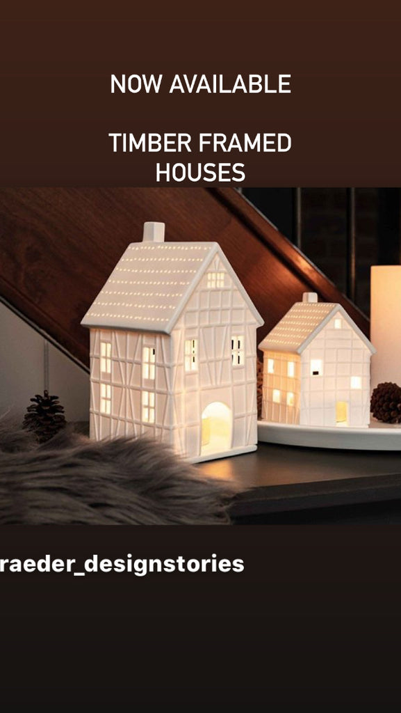 Rader -  Porcelain light houses - Christmas