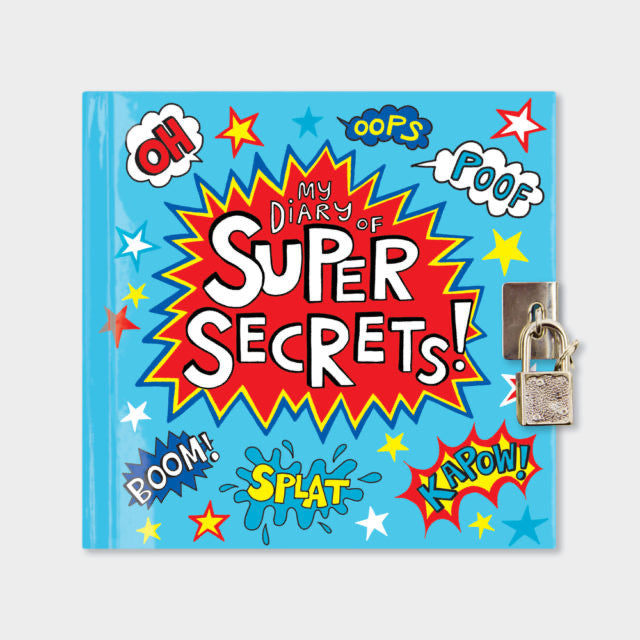 Super Hero Secret Diary by Rachel Ellen