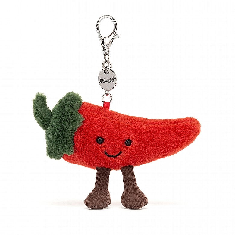 Jellycat Chilli bag charm