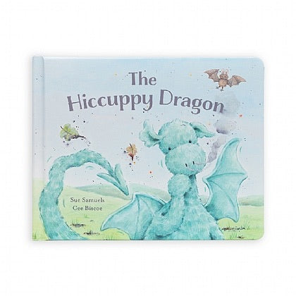 The Hiccupy Dragon book - Jellycat