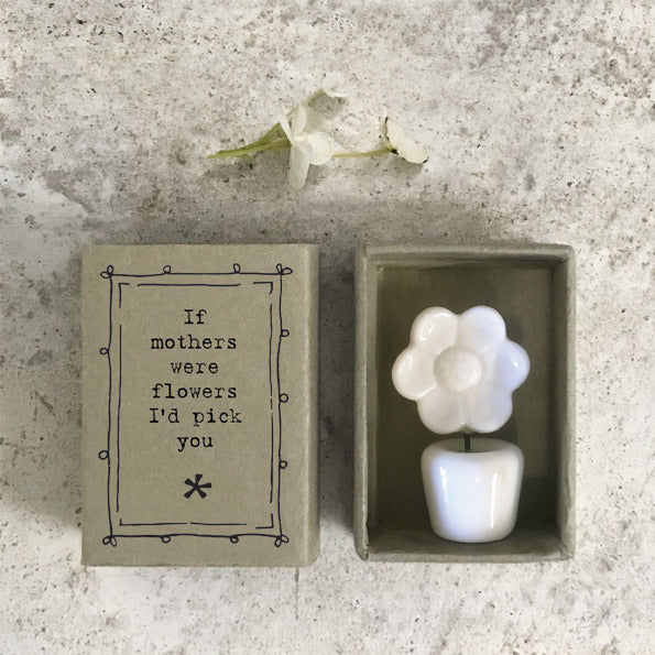 East of India - If Mothers were flowers - porcelain matchbox gift
