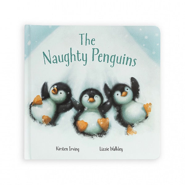 Jellycat - Naughtiest penguins book