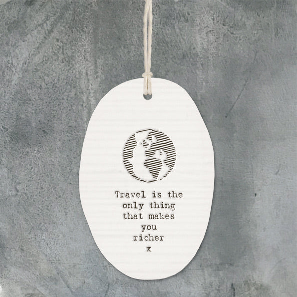 East of India Hanging oval - travel