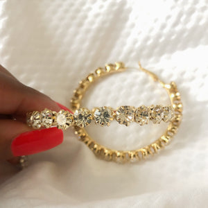 18k Gold Plated Hoops