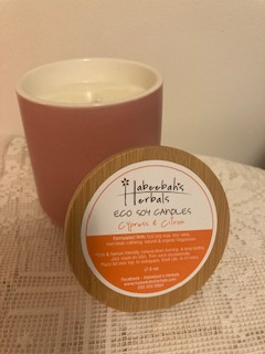 Cypress-Citron ECO Soy Candle