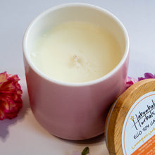 Load image into Gallery viewer, Lemongrass-Verbena-Bergamot Eco Soy Candle