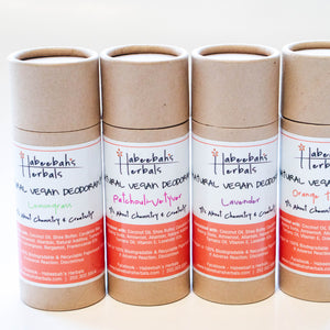 Natural Vegan Deodorants