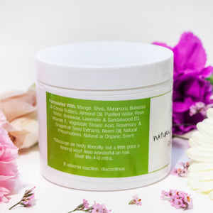 Green and White Tea Body Butter
