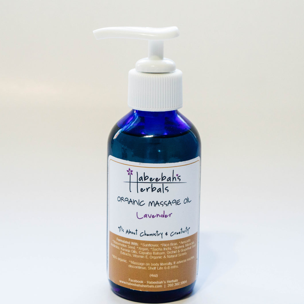 Lavender Body & Massage Oil