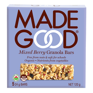 Mixed Berry Granola Bar