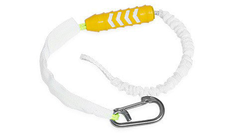 Push away short safety leash.