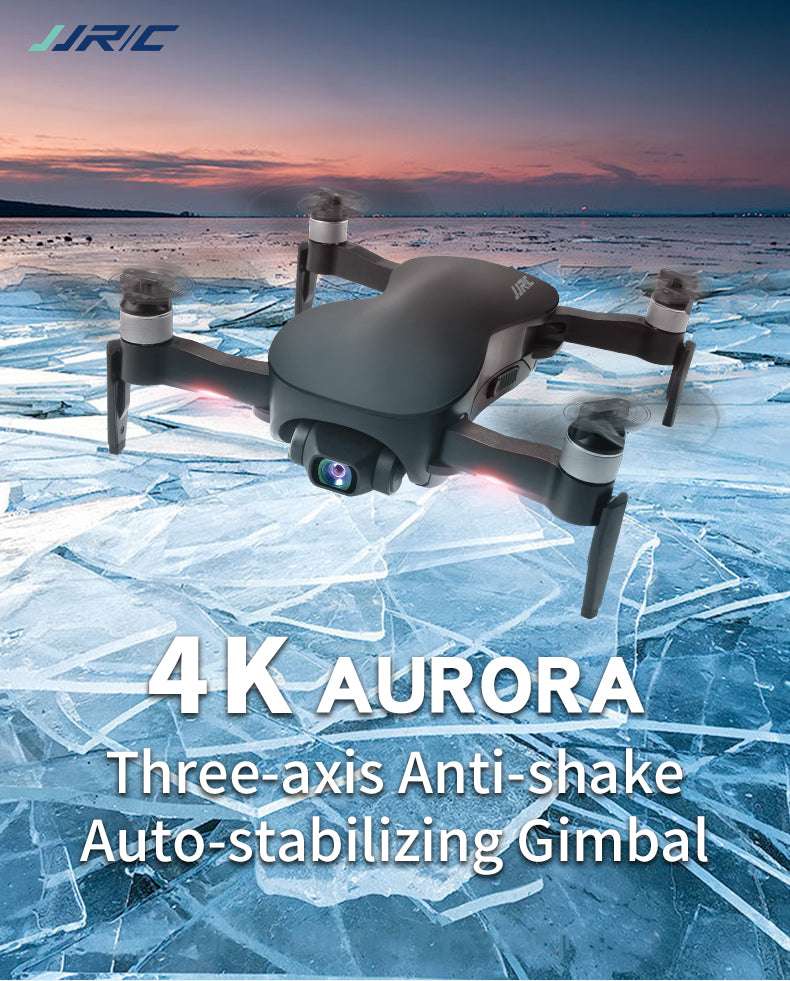 4K AURORA Three-axis Anti-shake Auto-stabilizing Gimbal