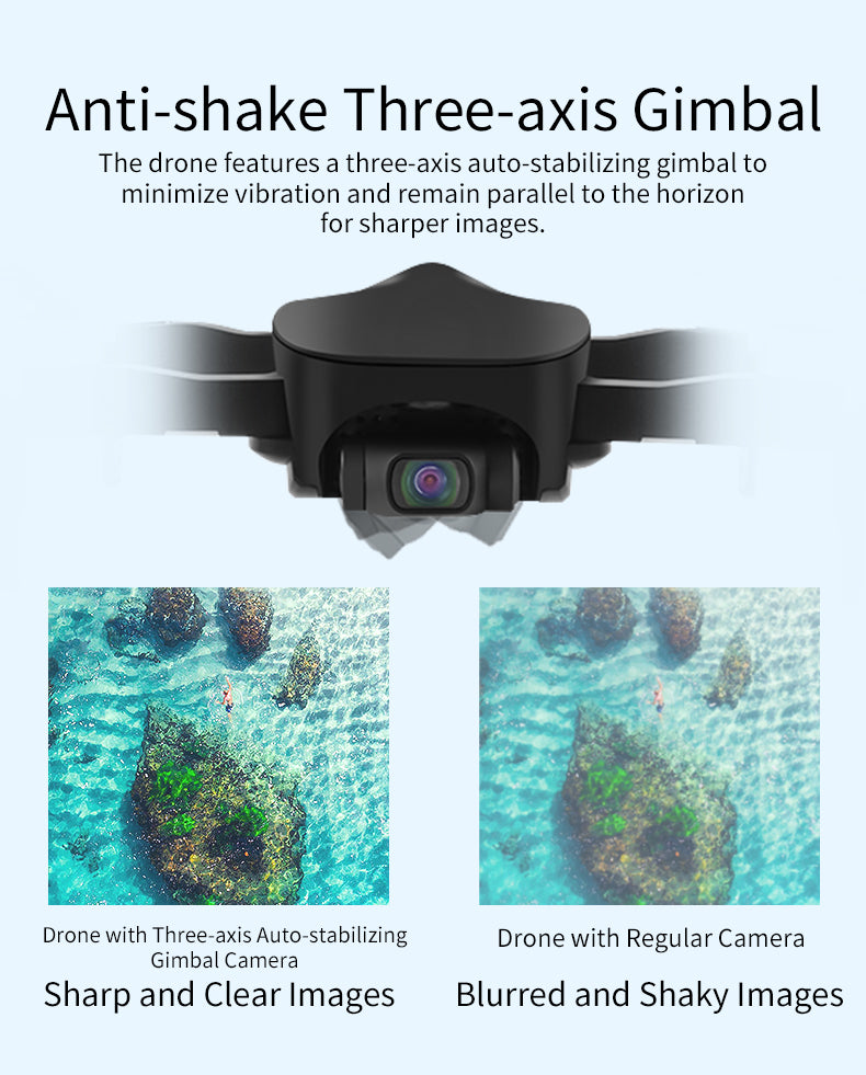 Anti-shake Three-axis Gimbal