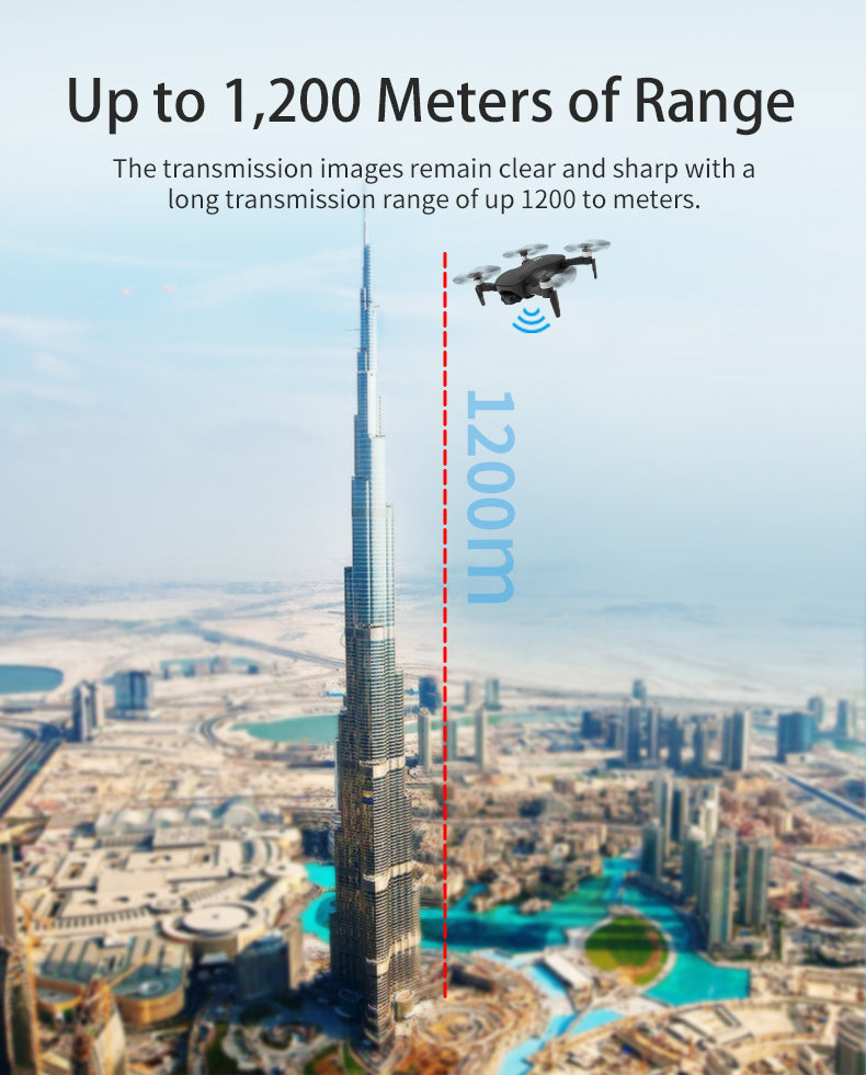 Up to 1, 200 Meters of Range,The transmission images remain clear and sharp with a long transmission ge of up1200 to meters.