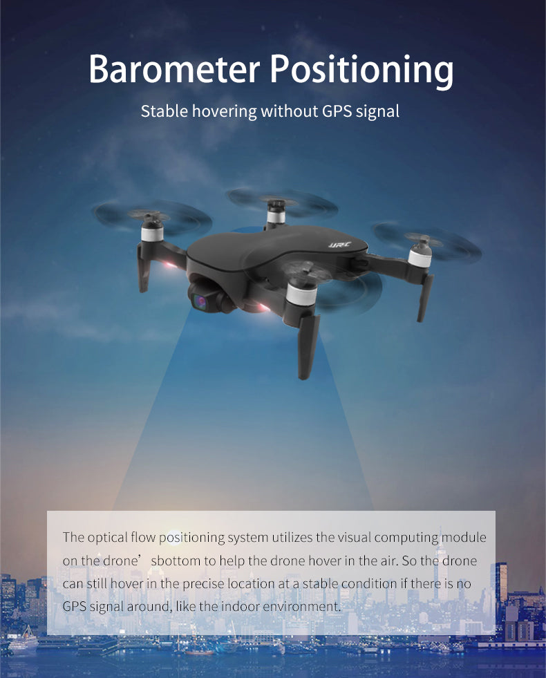 Barometer Positioning Stable hovering without GPS signal