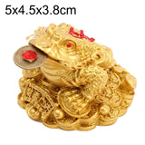 Feng Shui Toad Money Chinese Gold Frog Toad Feng Shui