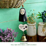 DIY Totoro wind chime kid home decoration cute girl room home decoration bell Wind chimes