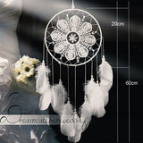big dream catcher decor for home nordic decoration home kids room decoration wind chimes