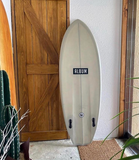"Custom - ALBUM SURFBOARDS, Disorder 5'6"" カーキグリーンティント"