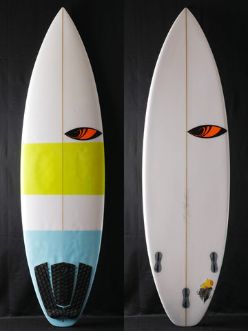 "5'8"" Game Changer for Filipe Toledo USED 35512"