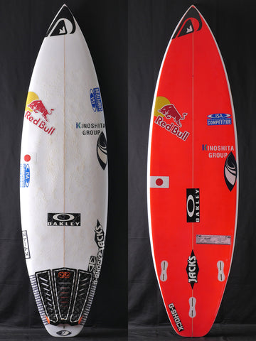 "USED for Kanoa Igrashi, SHARPEYE SURFBOARDS, ストームズ 5'10"" EPS #46577"