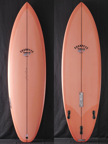 "5'11"" Disco Cheater 47406 Light Salmon Tint"