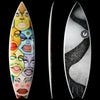 "カリフォルニア在庫 - Album Surfboards - DEF, 5'11"" Special Art of DAVID GILMORE"