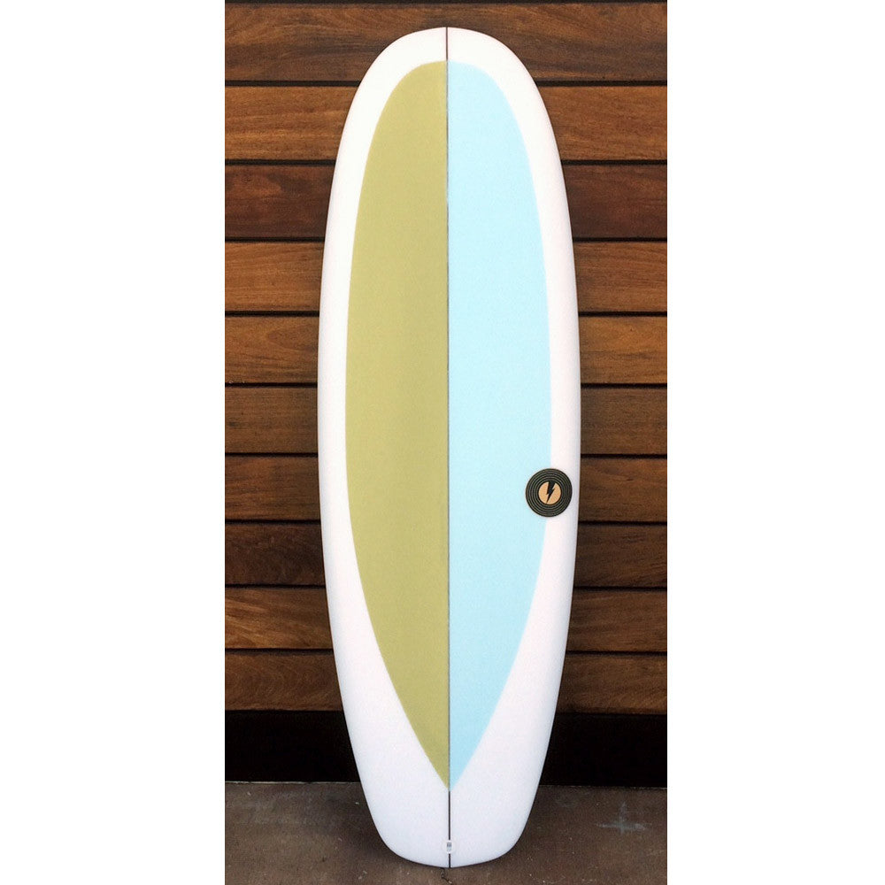 "カリフォルニア在庫 - Album Surfboards - Sub, 5'4""x 20""x 2.44"" Two Color Tint"