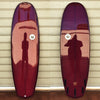 "カリフォルニア在庫 - Album Surfboards - Sub, 6'2""x 22.25""x 2.88"" Burgandy Tint"