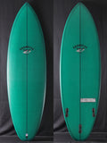 "5'8"" Disco Cheater 45712 Green Tint"