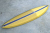 "カリフォルニア在庫 - Album Surfboards - Ledge, 6'6""x 19.5""x 2.63"" Olive Greent Tint, Poly Epoxy"