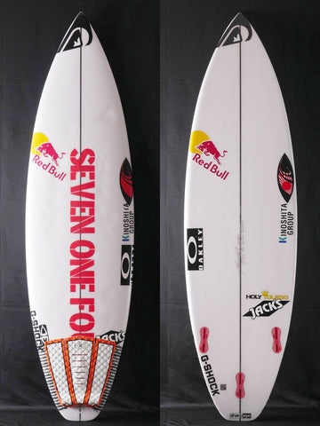 "5'9.5"" Holy Toledo for Kanoa Igarashi USED 43754"
