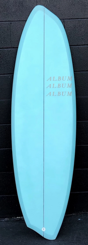 "5'10"" DISASYM EPOXY - REGULAR FOOT"