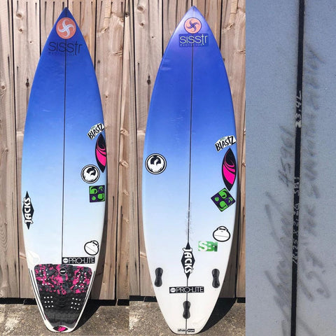 "USED for Samantha Sibley, SHARPEYE SURFBOARDS, SB1 5'7"" #45961"