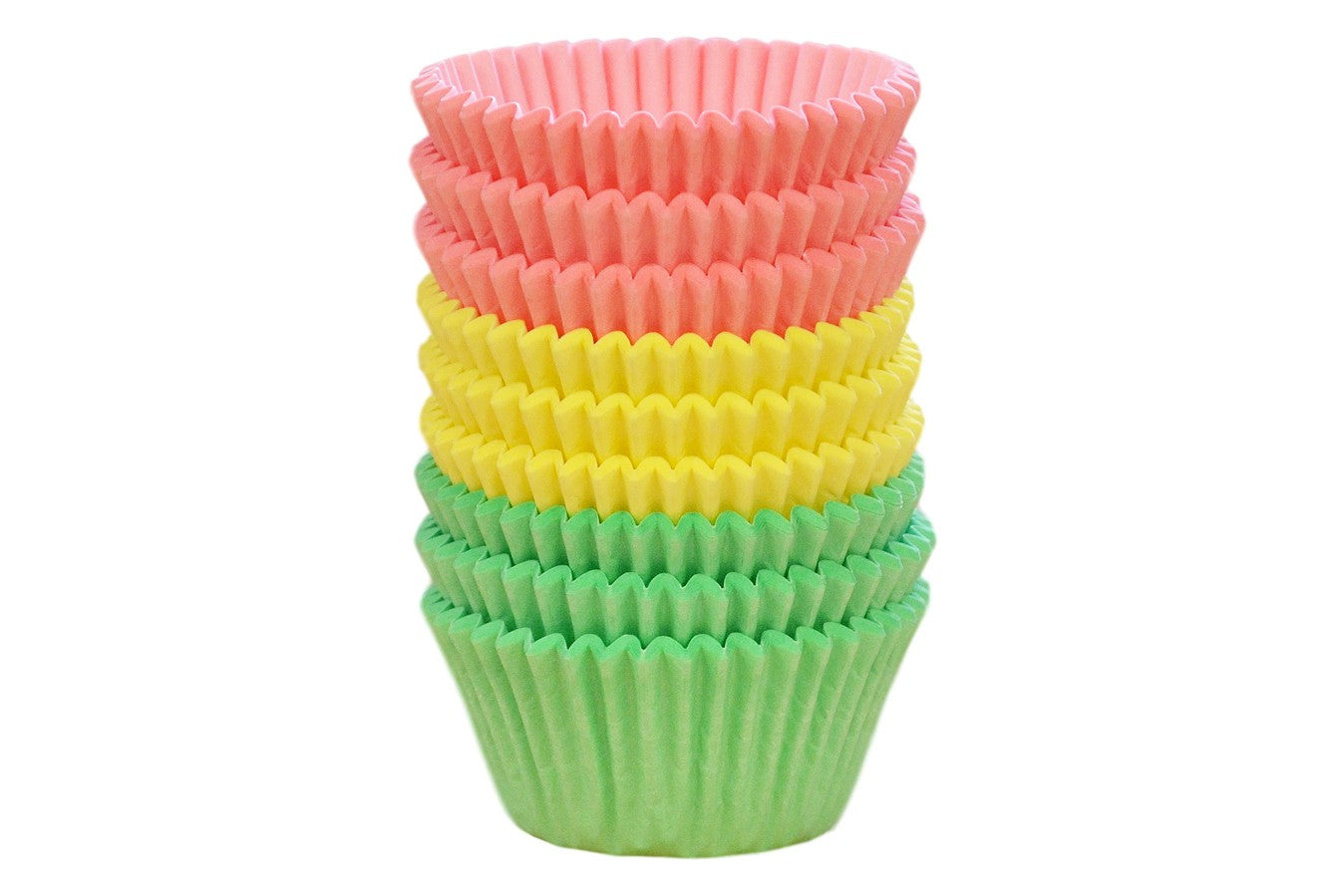 Assorted Pastel Colours Cupcake Cases