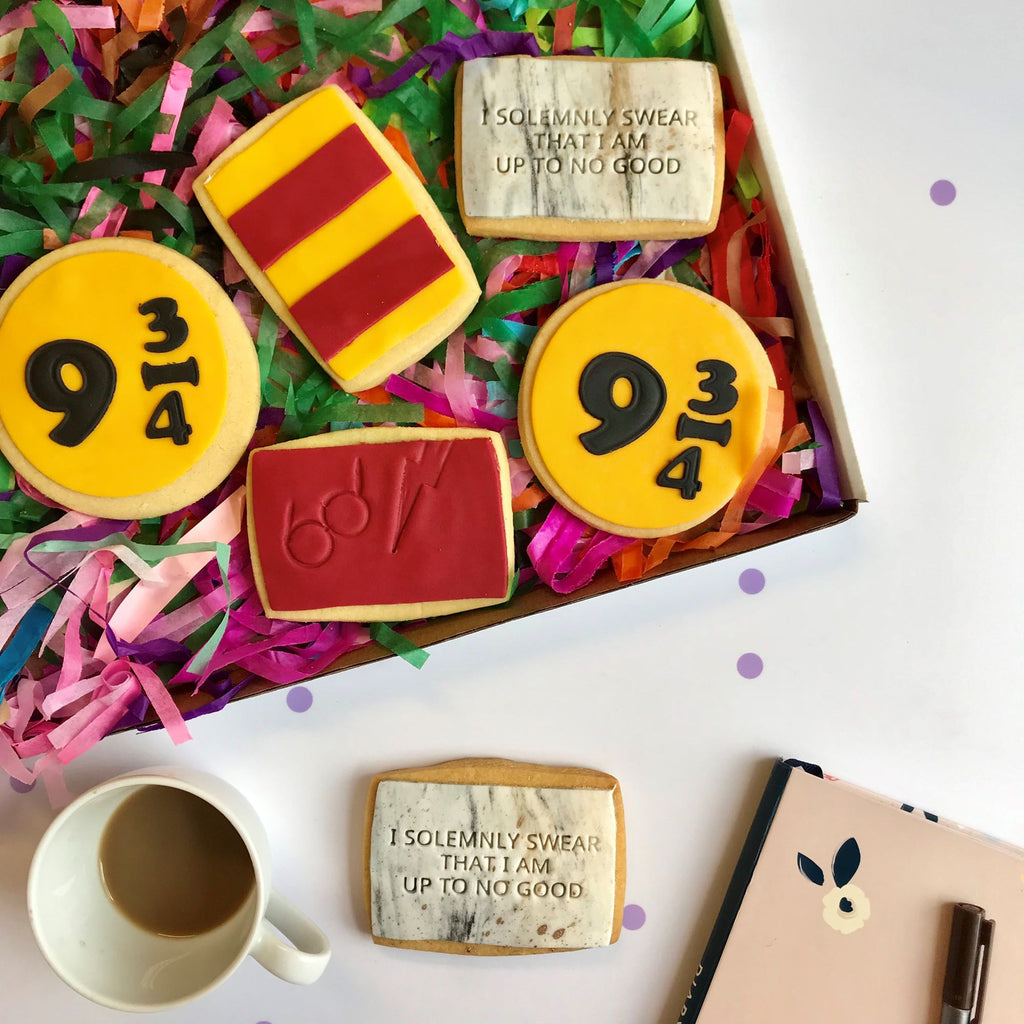 Harry Potter Cookie Box