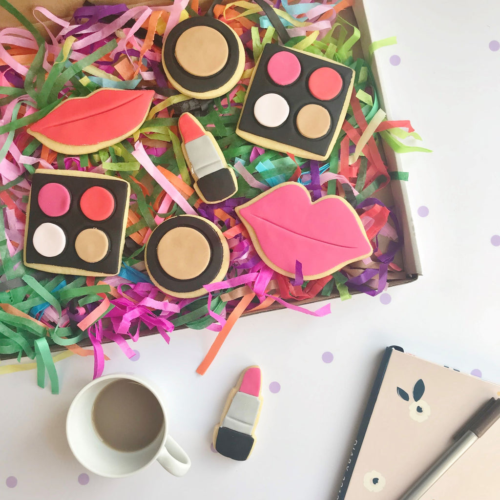 Make Up Cookie Box