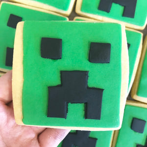 Creeper Cookies (3)