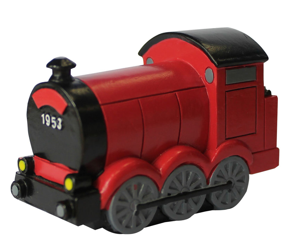 Resin Red Train