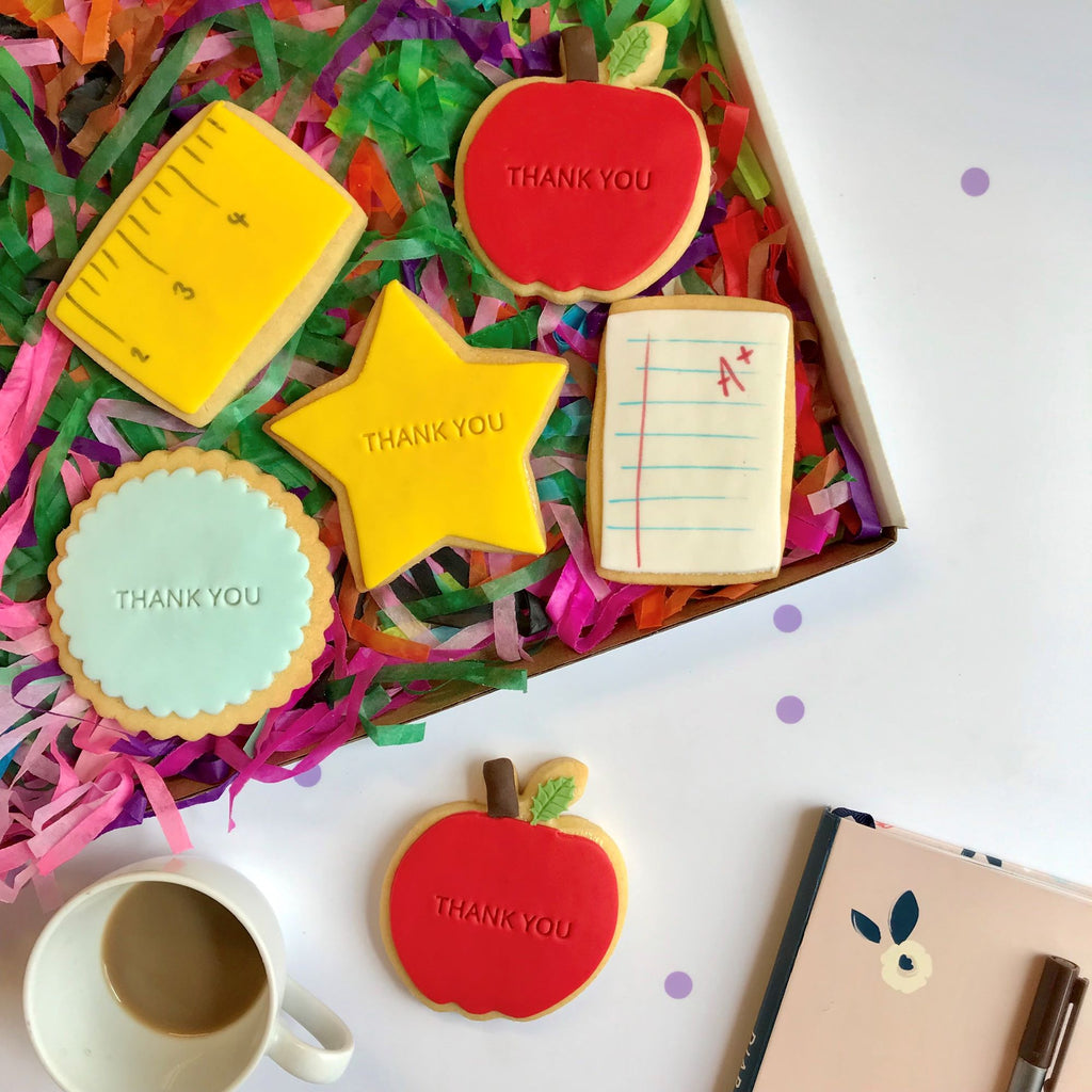 Teacher Cookie Box