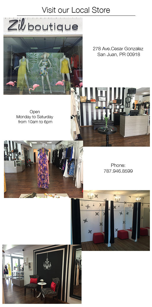 Store Location – Zil boutique on