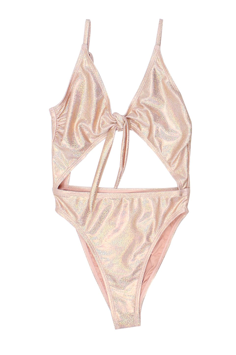 Rose Gold of Fun One Piece Swimsuit