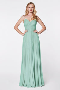 Lost in the Moment Plated Bridesmaid Dress