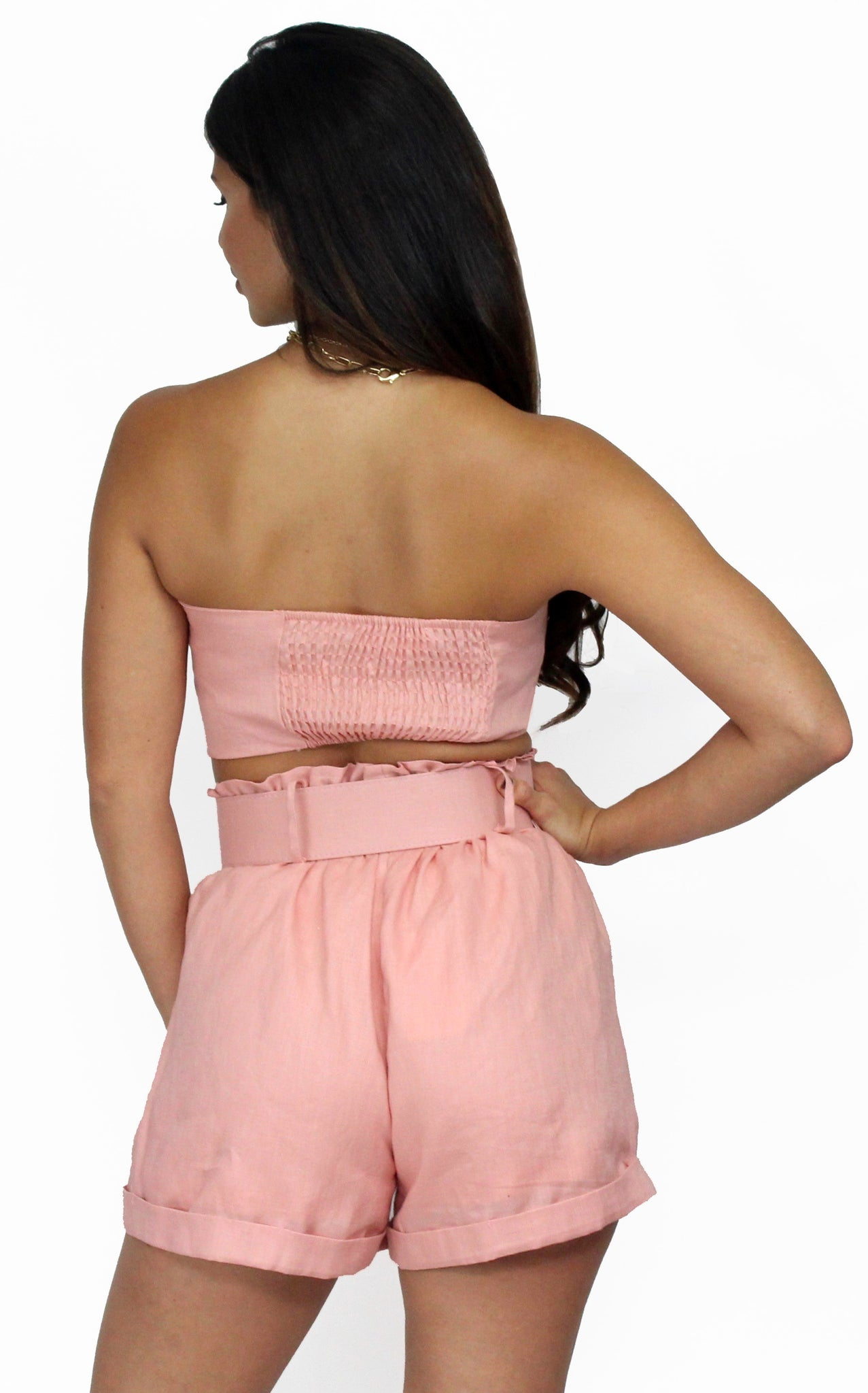 The Way We Are Blush Two-Piece Set