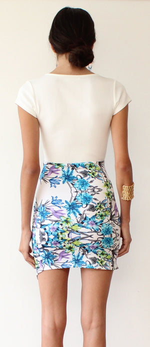 Bright Idea Tropical Bodycon Dress