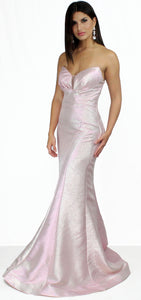 Hold on to Love Opal Pink Formal Gown