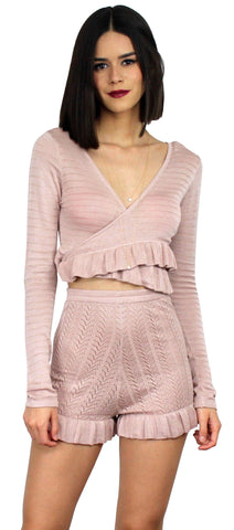 Park City Rose Woven Two-Piece Set