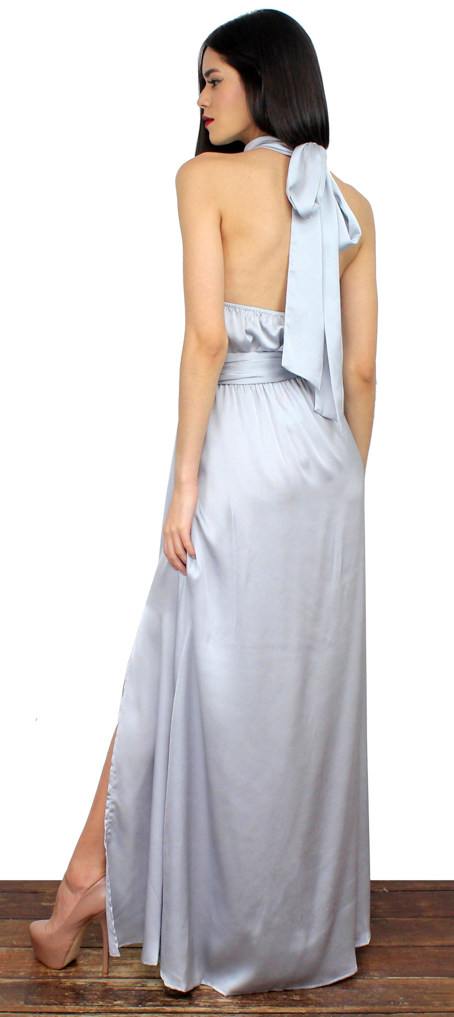 Mythical Kind of Love Silver Gown